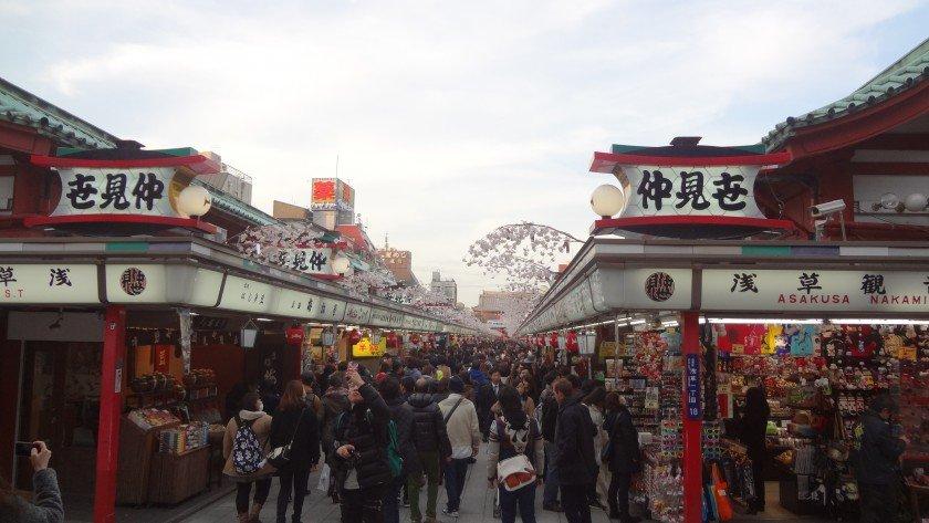 Sensoji Nakamise-dori