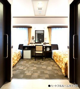 Toyoko Inn B Type Room Entrance