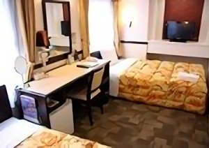 Toyoko Inn Type B Room Beds