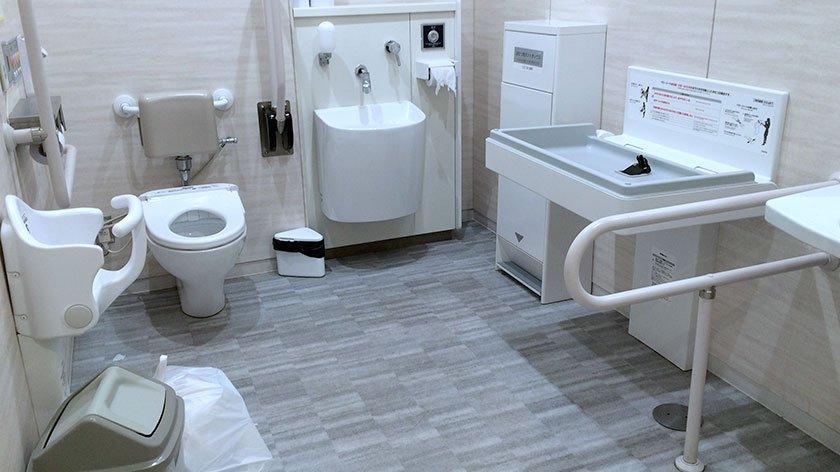 Akihabara Radiokaikan Toilet