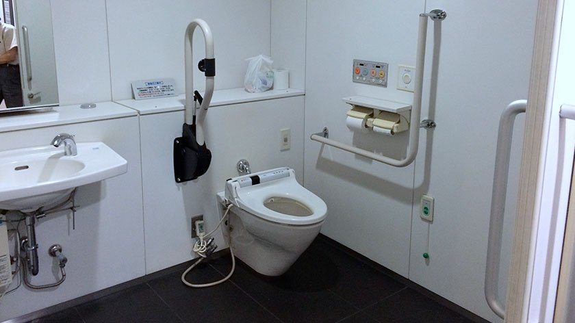 Tokyo Animation Center Toilet