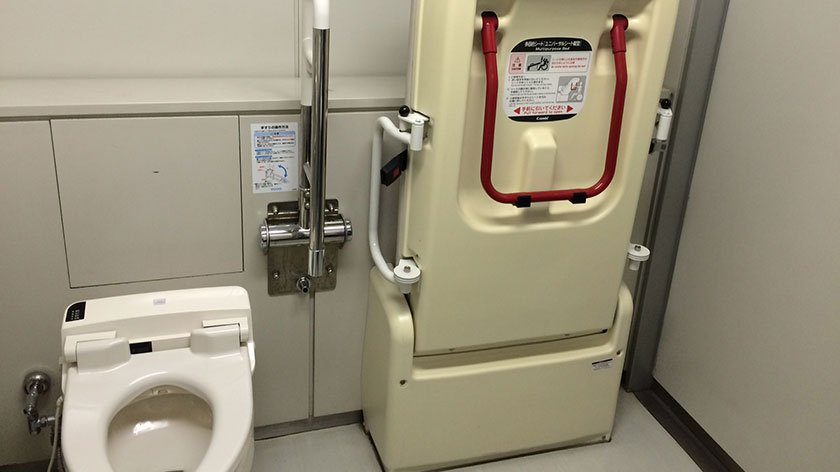 Tokyo Metropolitan Government Building - Accessible Toilet