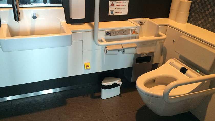 Tokyo Skytree Tembo Deck Toilet