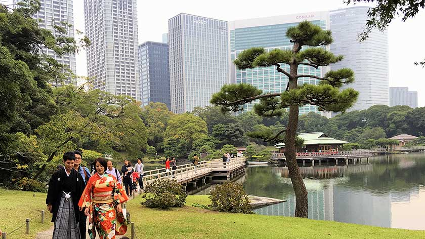 Hama Rikyu Gardens – Accessibility Review