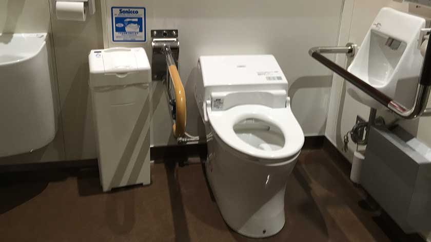 Tokyo Tower - Accessible Toilet on Lower Level