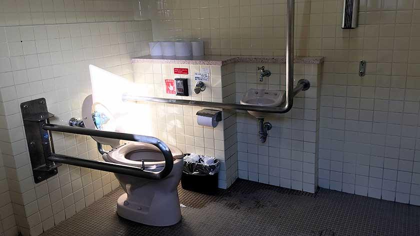 Nijo Castle - Accessible Toilet