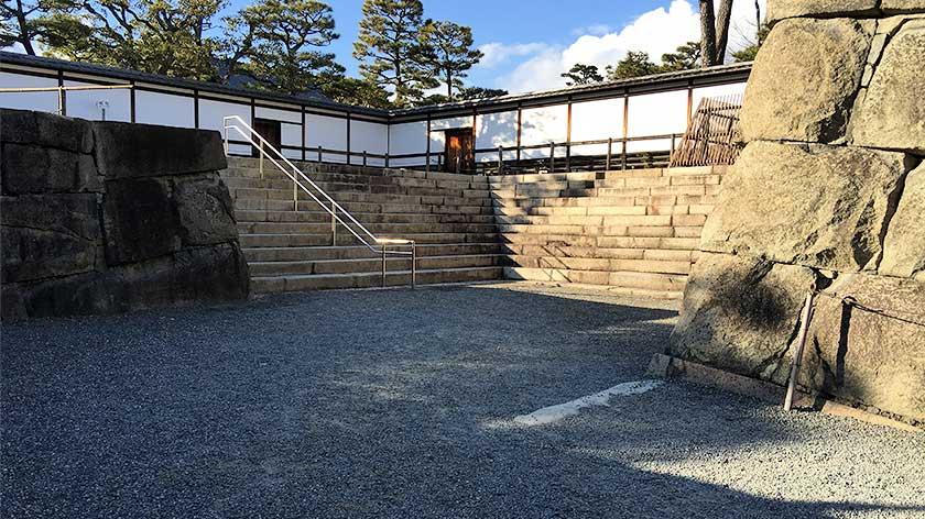 Nijo Castle - Honmaru Inaccessible Entrance