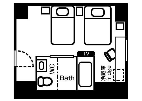 green_rich_hotels_kyoto_eki_minami_layout