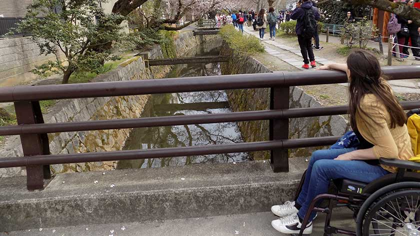 Kyoto in a Manual Wheelchair by Susie from Wheelchair World – Part 1