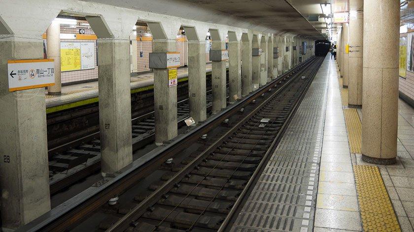 Blind Man Falls to Death at Tokyo Subway Station