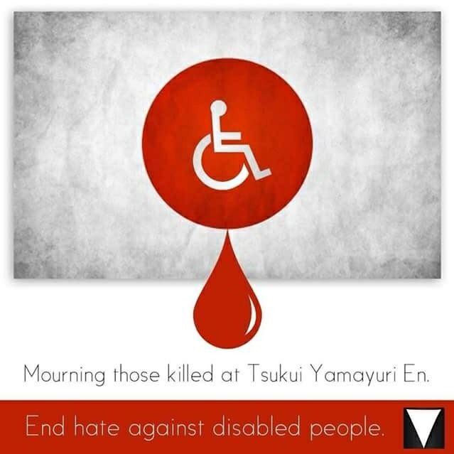 Disability Hate Crime & The Sagamihara Victims