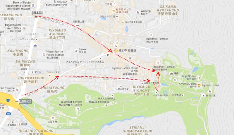 route_to_kiyomizu-dera_temple
