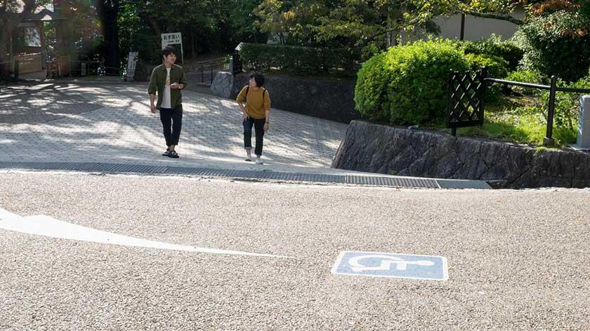 End of accessible path at Kiyomizu-dera