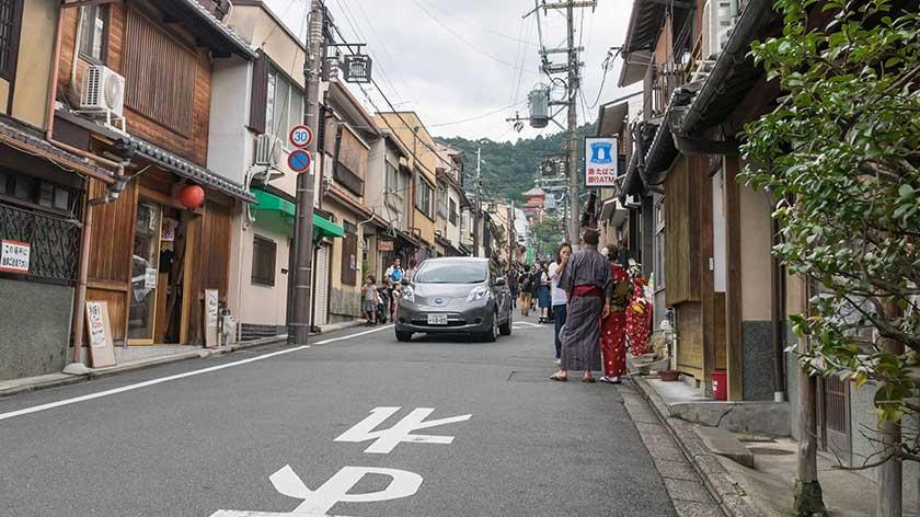 Main Road to Kiyomizu-dera