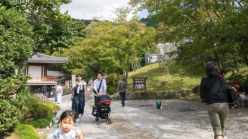 Path behind Kiyomizu-dera