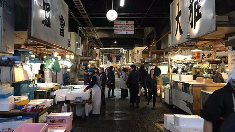 Tsukiji fish market accessible japan for Japan fish market