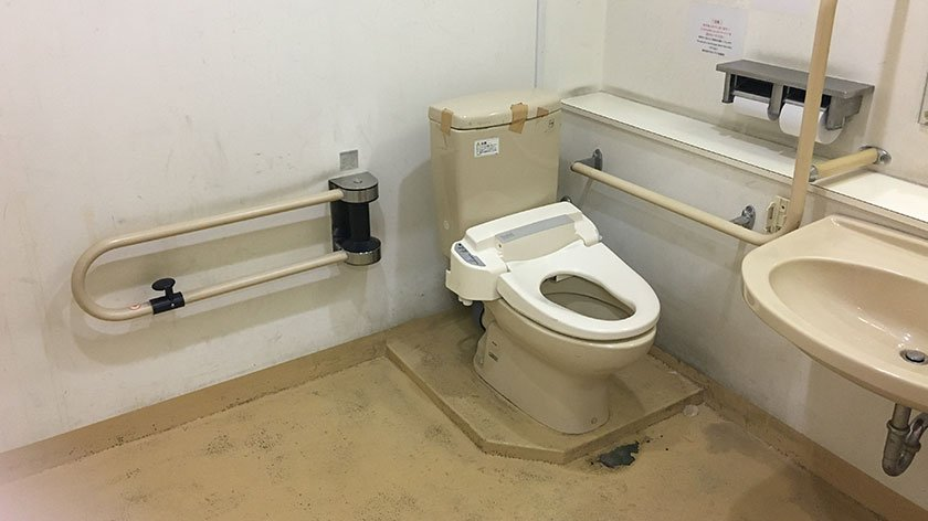 Tsukiji Nippon Fish Port Market Toilet