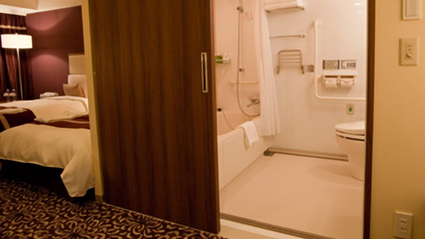 A Lifehack for Accessible Hotel Rooms in Japan