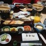 Meal at onsen