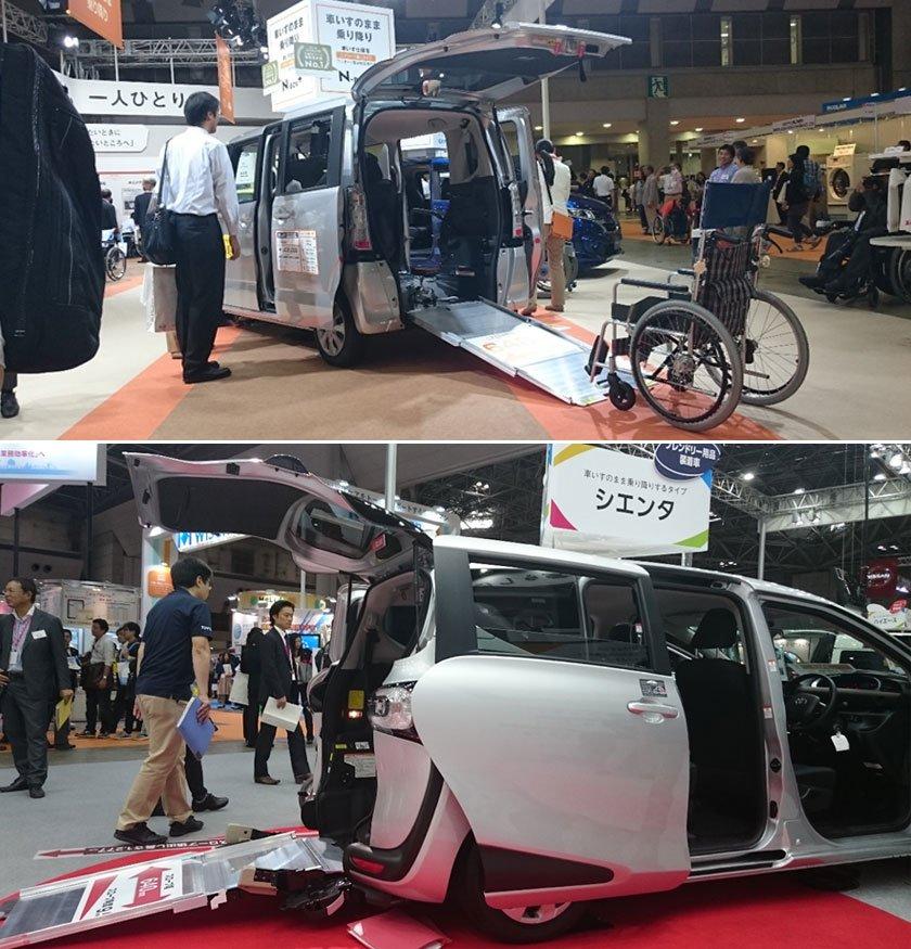 Accessible vans