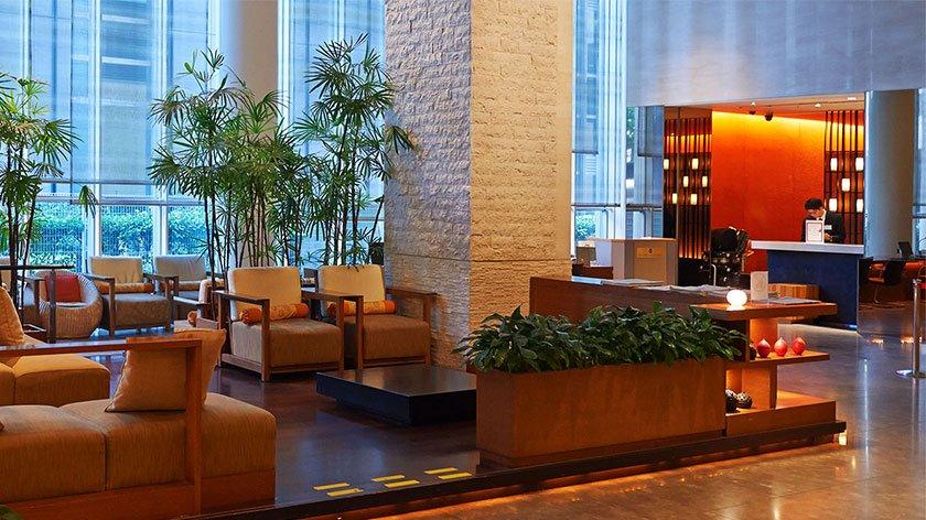 Hotel Sunroute Plaza Shinjuku Lobby