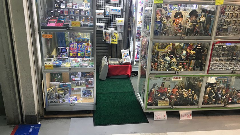 Nakano Broadway - Cramped Store