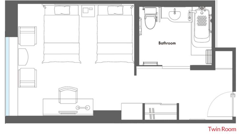 hotel-metropolitan-tokyo-marunouchi-wheelchair-accessible-room-twin-layout