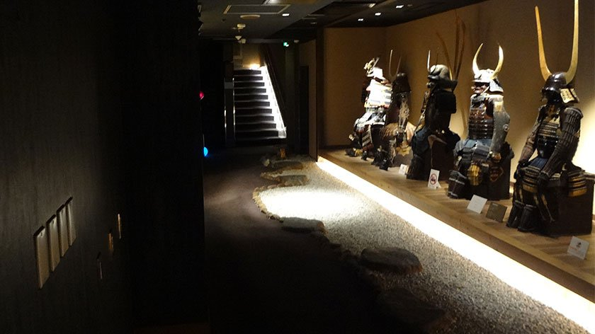 First floor of the Samurai Museum
