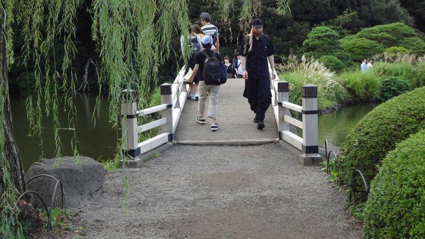 Japanese Garden area