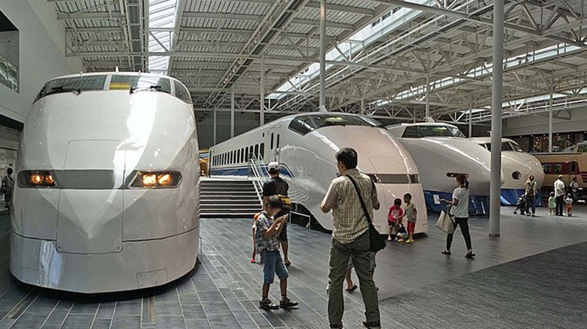 SCMAGLEV and Railway Park - Inside