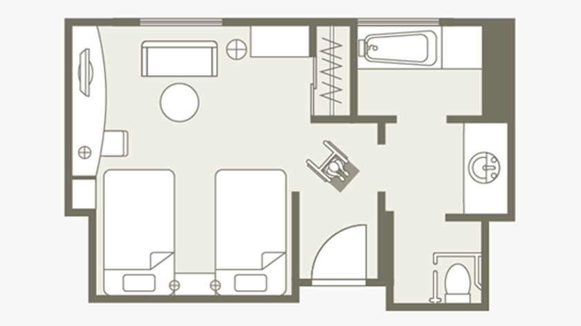 Accessible Room Layout