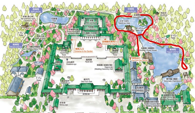 heian-shrine-map-accessible-route