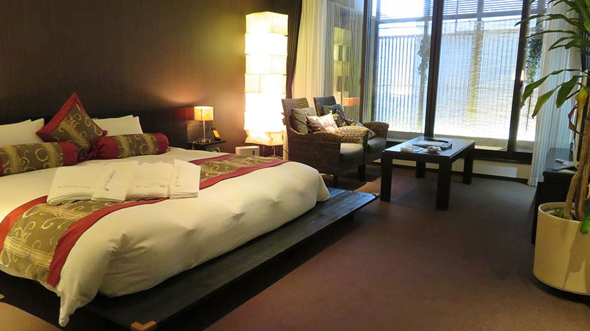 Accessible room at Kizashi The Suite