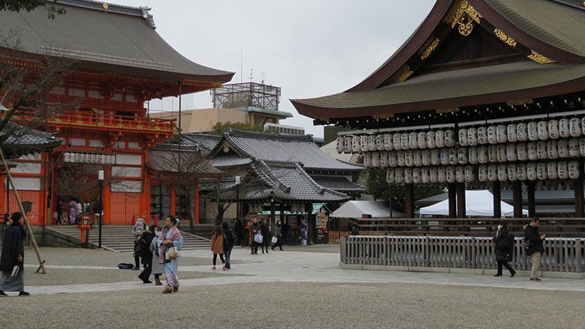 Yasaka Shrine grounds