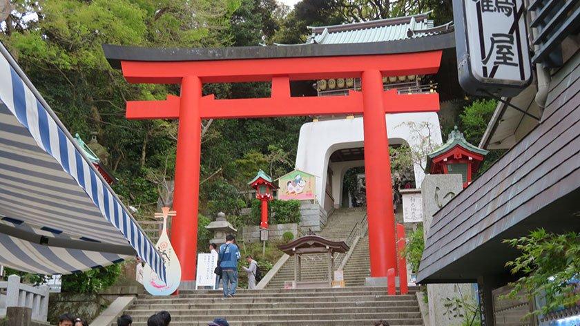 Enoshima Jinja Entrance
