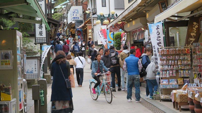 Enoshima Main Street