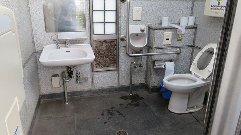 Public Toilet on Enoshima