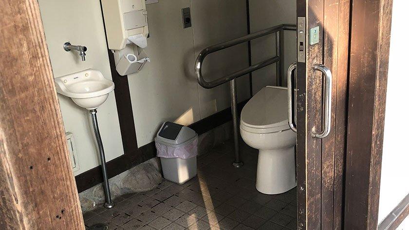 Hirosaki Castle toilet