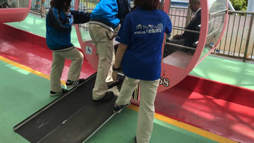 Kasai Rinkai Park ferris wheel