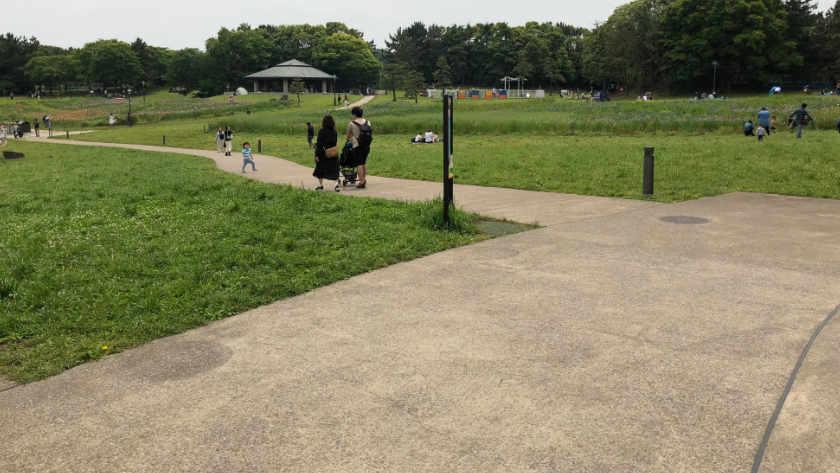Kasai Rinkai Park path