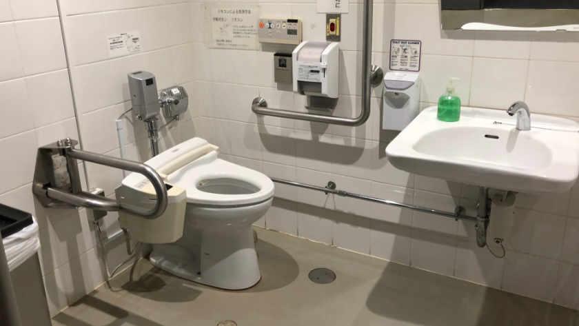 Kasai Rinkai Park toilet