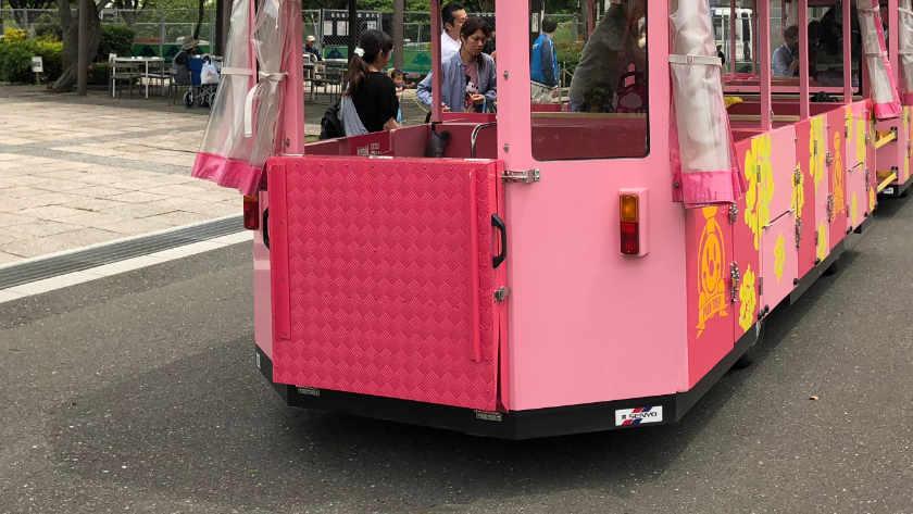 Kasai Rinkai Park trolley
