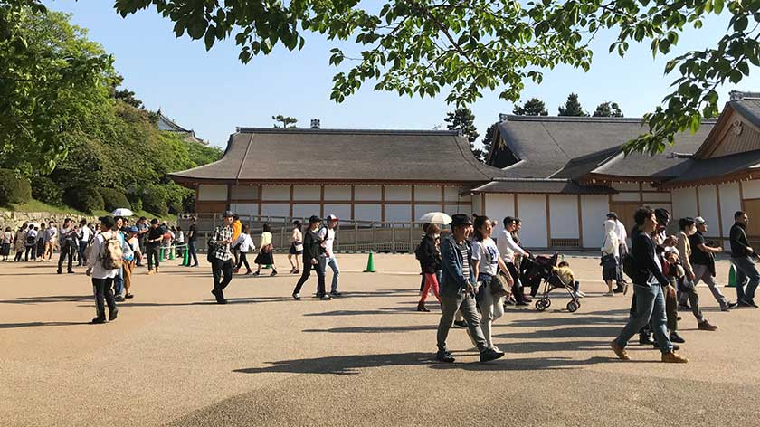 Nagoya Castle grounds