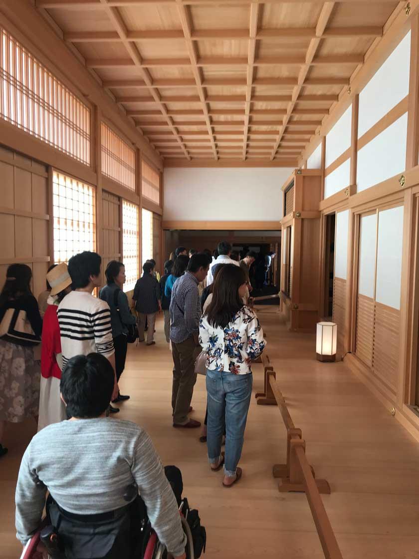 Inside Honmaru Palace
