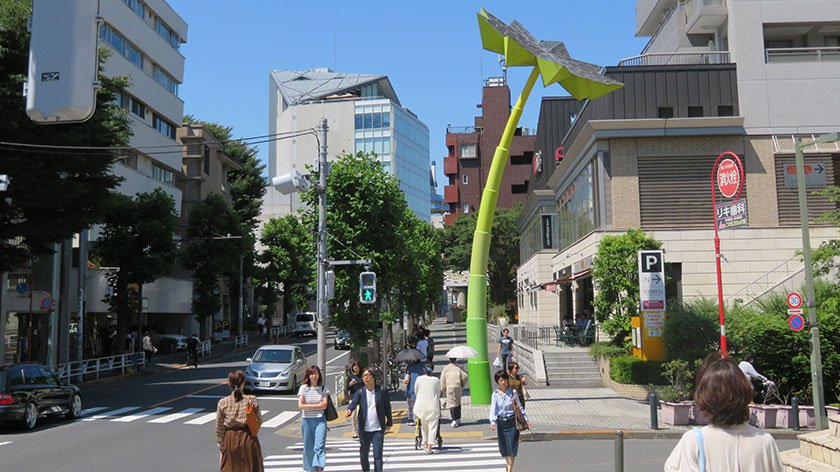 Main street of Daikanyama