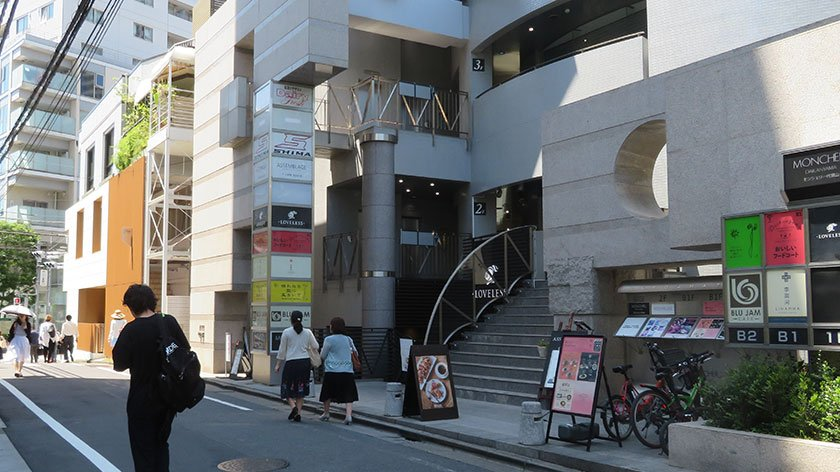 Shops in Daikanyama
