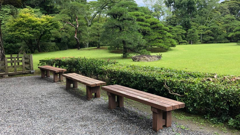 Benches - Ise Grand Shrine