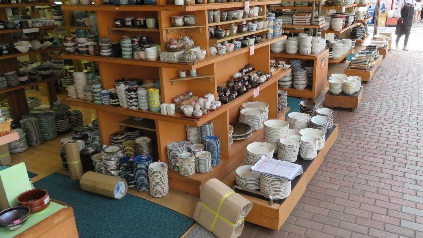 Kappabashi Street pottery