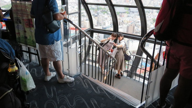 kyoto-tower-stairs