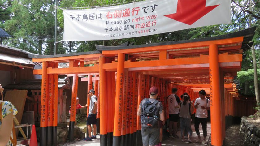 Fushimi Inari Shrine return path